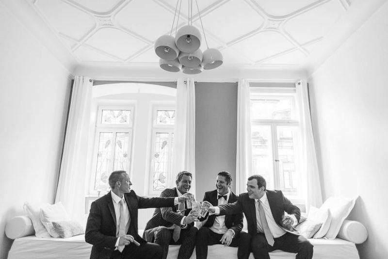 Beispiel: Hochzeitgäste, Foto: Jon Pride Photography.