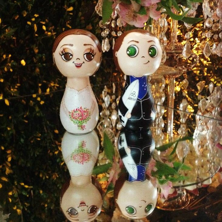Bonequinhos de Madeira