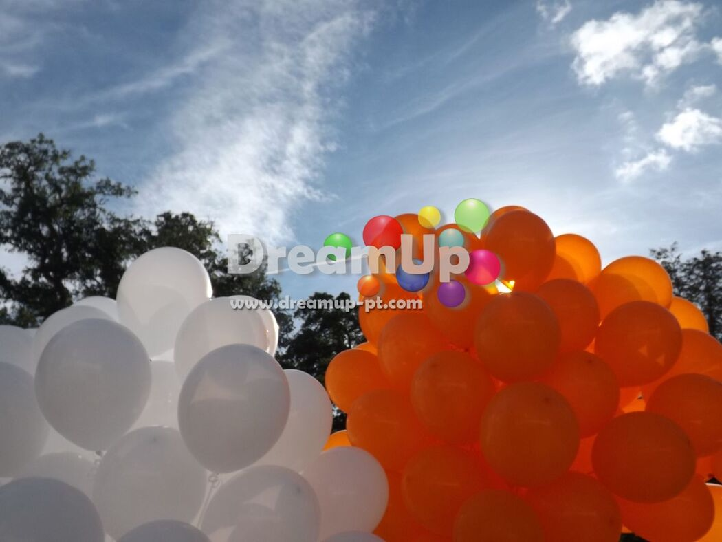 Balões para Largada