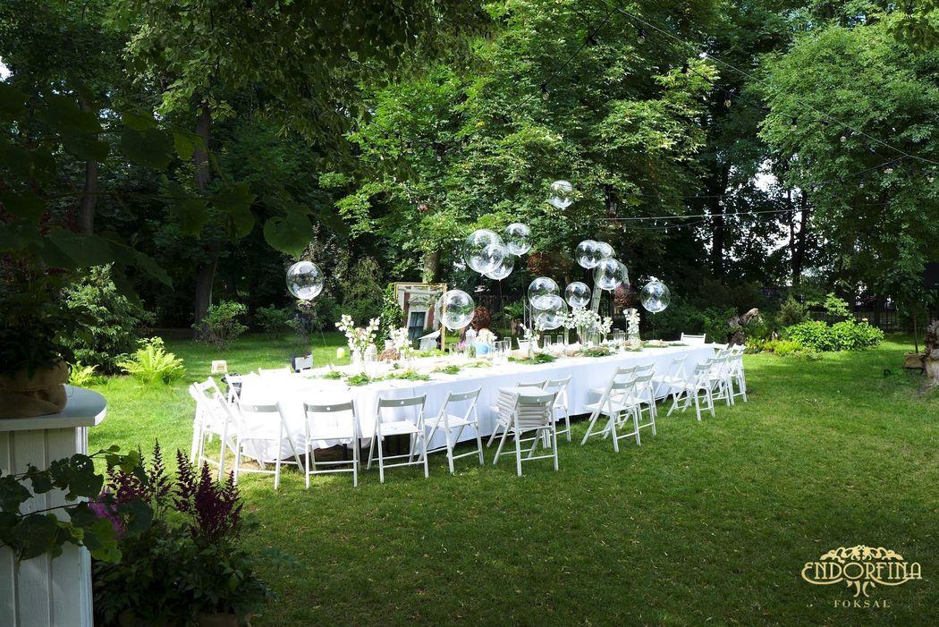 Wesele w ogrodzie ENDORFINA FOKSAL