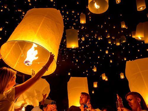 Tenemos Sky Lanterns