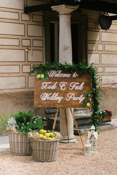 Summer rustic wedding