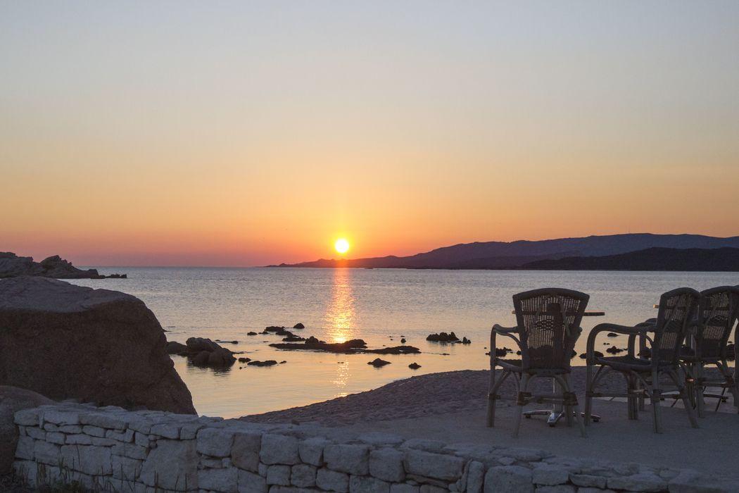 merveilleux coucher de soleil