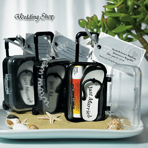 Beispiel: Mini-Trolley, Foto: Wedding Shop.