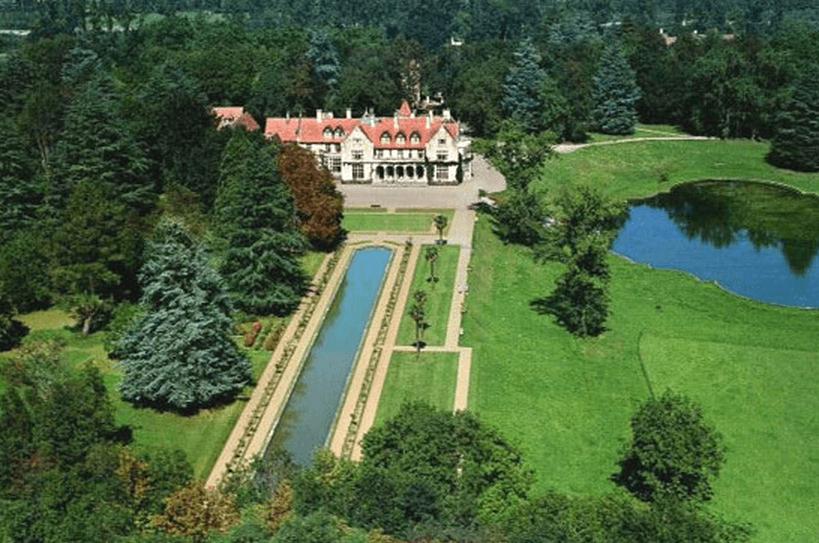 Jardines del Palacio de Los Hornillos.
