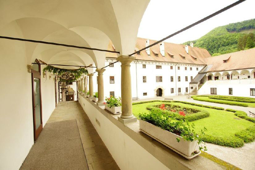 Beispiel: Innenhof, Foto: Kartause Gaming.