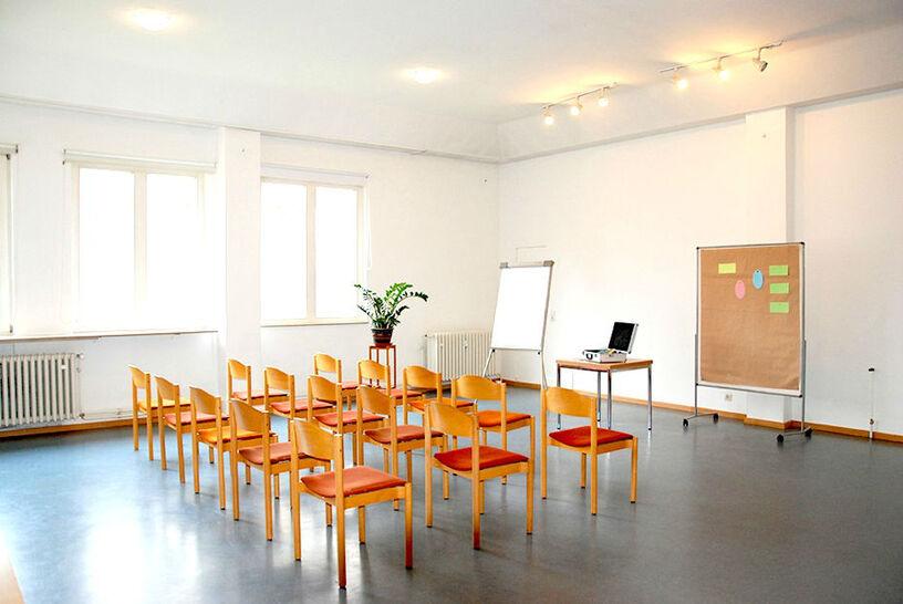 Beispiel: Waldraum, Foto: Seminarhaus am Schönberg.