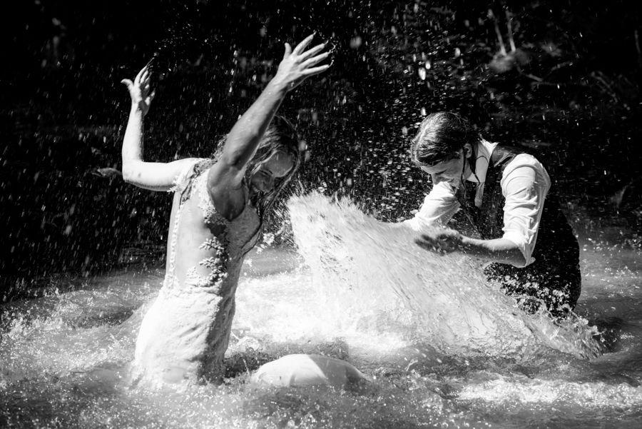 fotografía post-boda en Girona