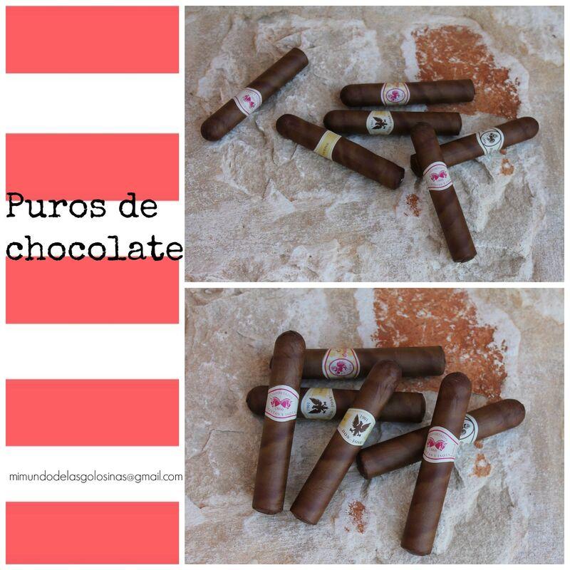 Mi mundo de las golosinas Puros de chocolate para tus invitados