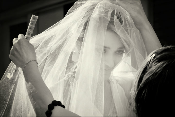 ...veiled brides and emotions...