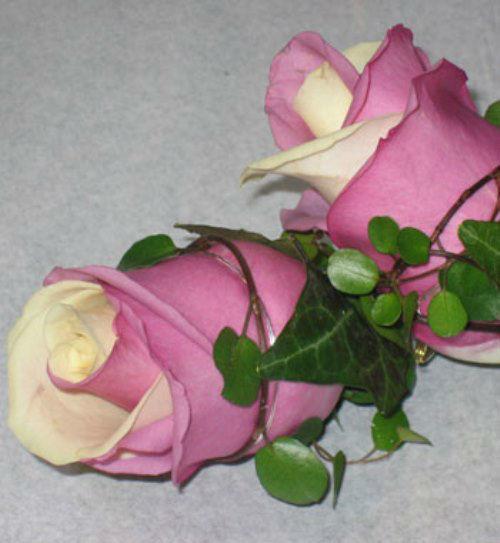 Beispiel: Kunst mit Blumen, Foto: Blumenhaus Klein.