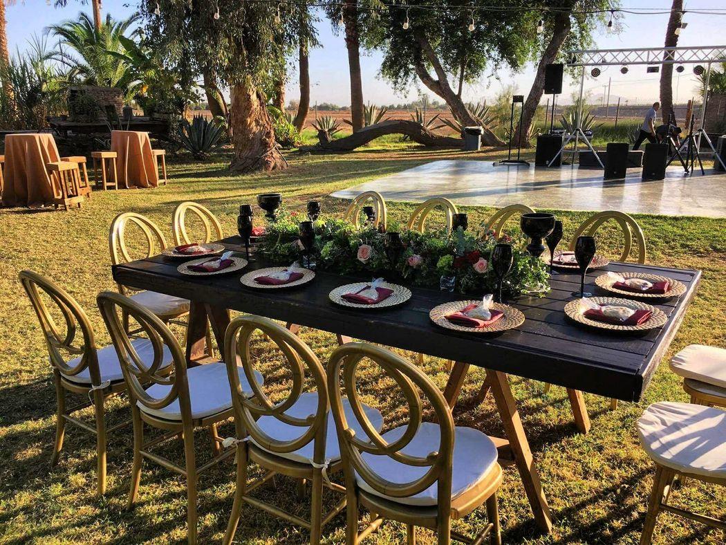 Jardin rancho las palmas bodas for Villas de jardin port glaud