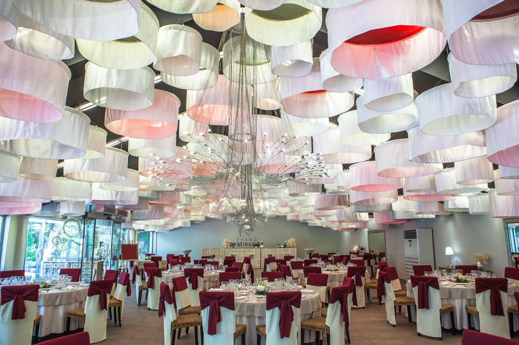 Nuestro Palacio de Cristal, para vuestro banquete.