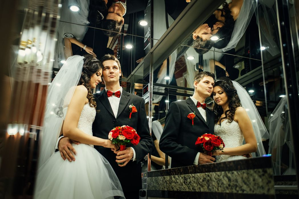 Свадебная фотосессия в отеле Эрмитаж