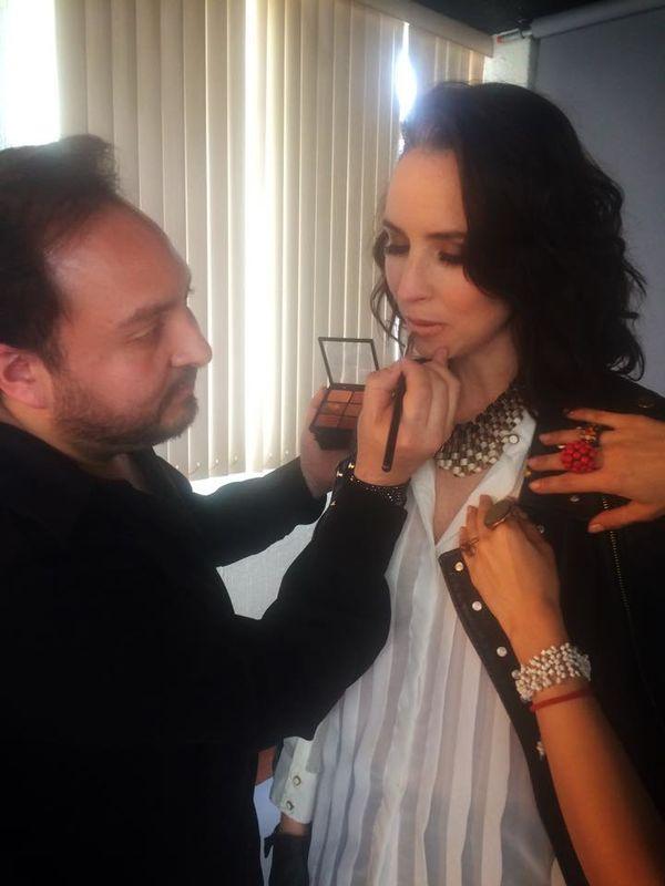 Shooting con Andrea Torre