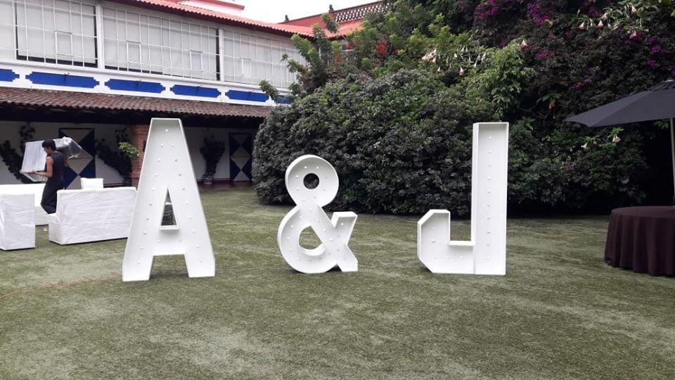 Renta De Letras Gigantes México D.F.