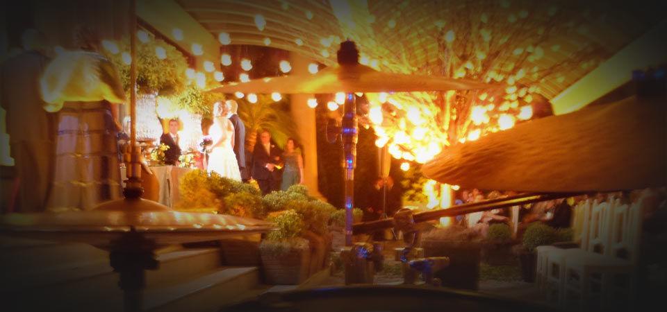 Cerimonial de casamento - Buffet França.