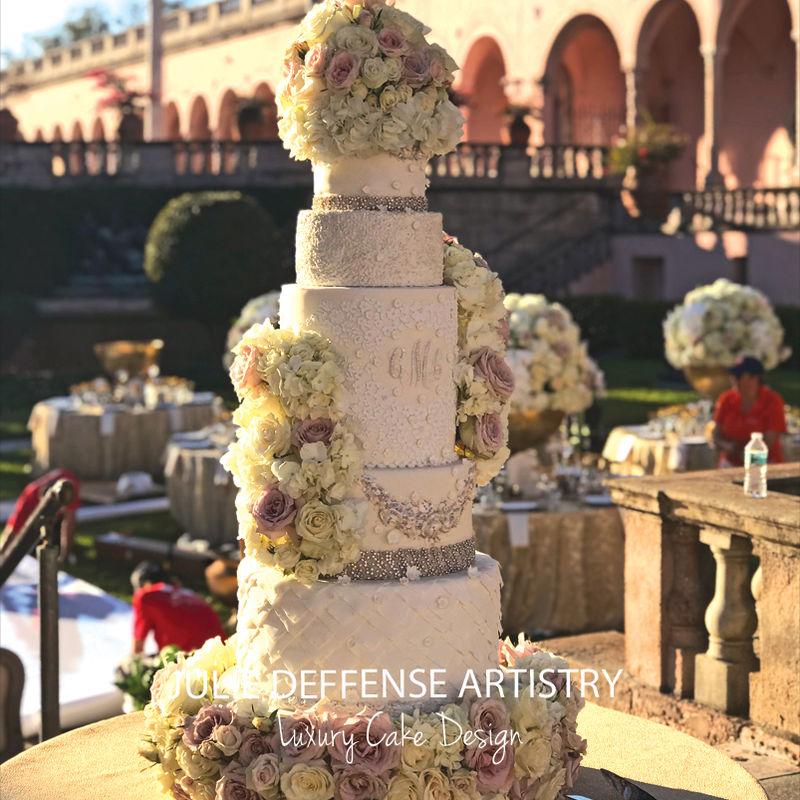 Julie Deffense Artistry - Luxury Wedding Cakes