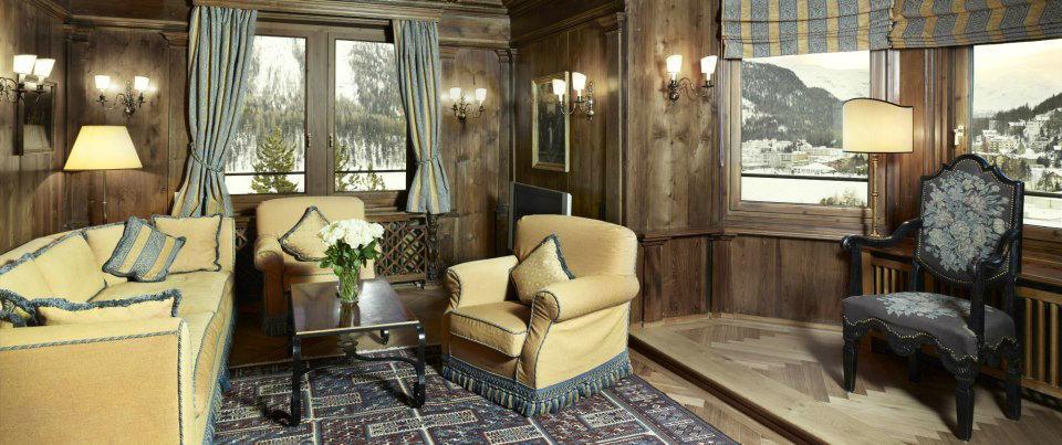 Beispiel: Gemütliche Hotelzimmer, Foto: Badrutt's Palace Hotel.