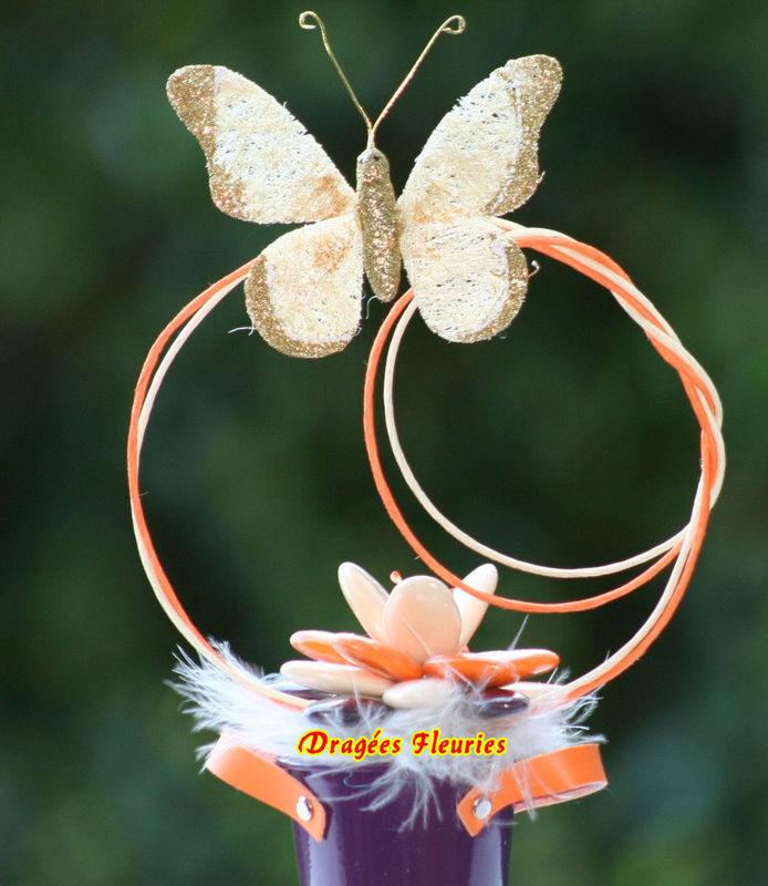 Dragées Fleuries idée Cadeau témoins ou parents proches