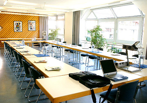 Beispiel: Tagung, Foto: AKZENT Hotel Höhenblick.