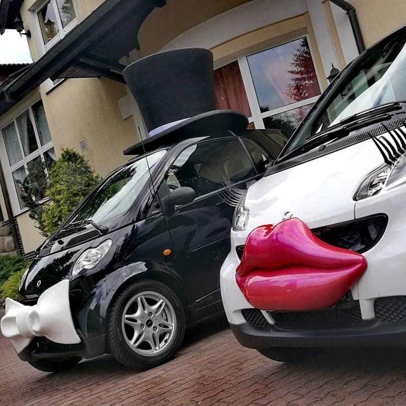 Auto do ślubu - SMART PARA - HIT wesel!