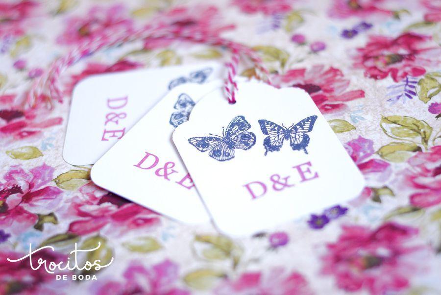 Etiquetas Butterflies Inside