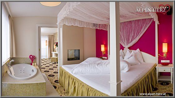 Beispiel: Honeymoon Suite, Foto: Alpen-Herz.