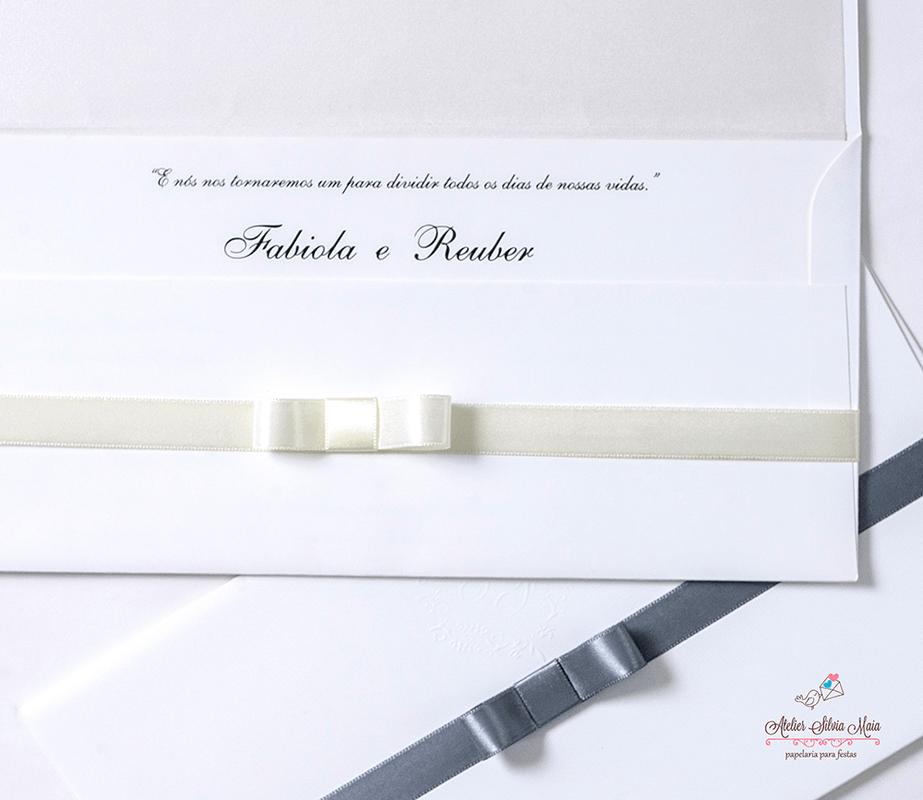 Convite Carteira Tradicional - Ref. CS.0121