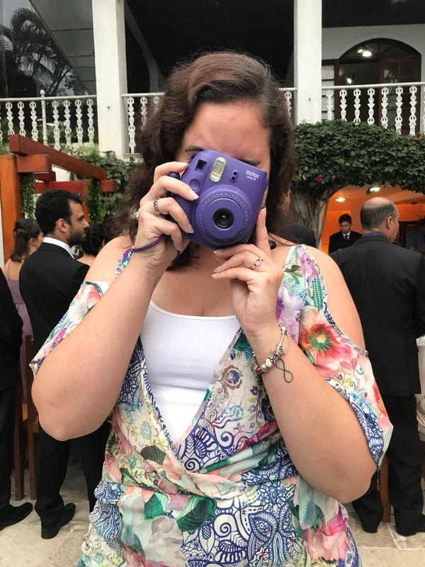 Fotógrafa Instax