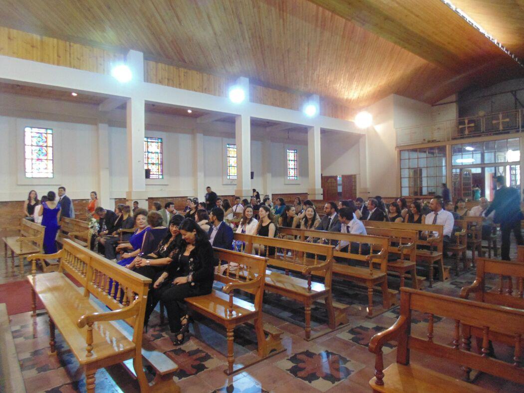 Boda en Iglesia San Agustín, Talca. Noviembre de 2016.
