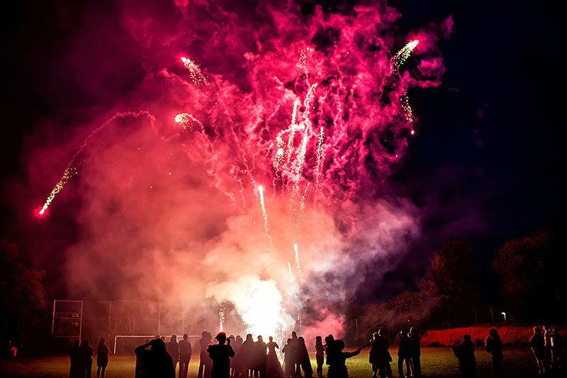Beispiel: Feuerwerk, Foto: Moods Bar & Restaurant.