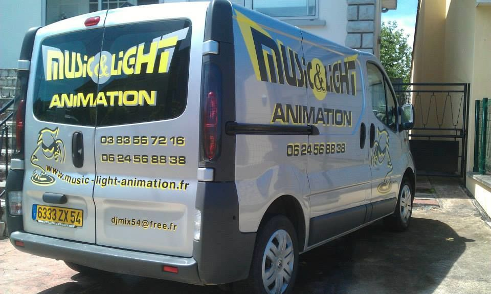 Music & Light animation