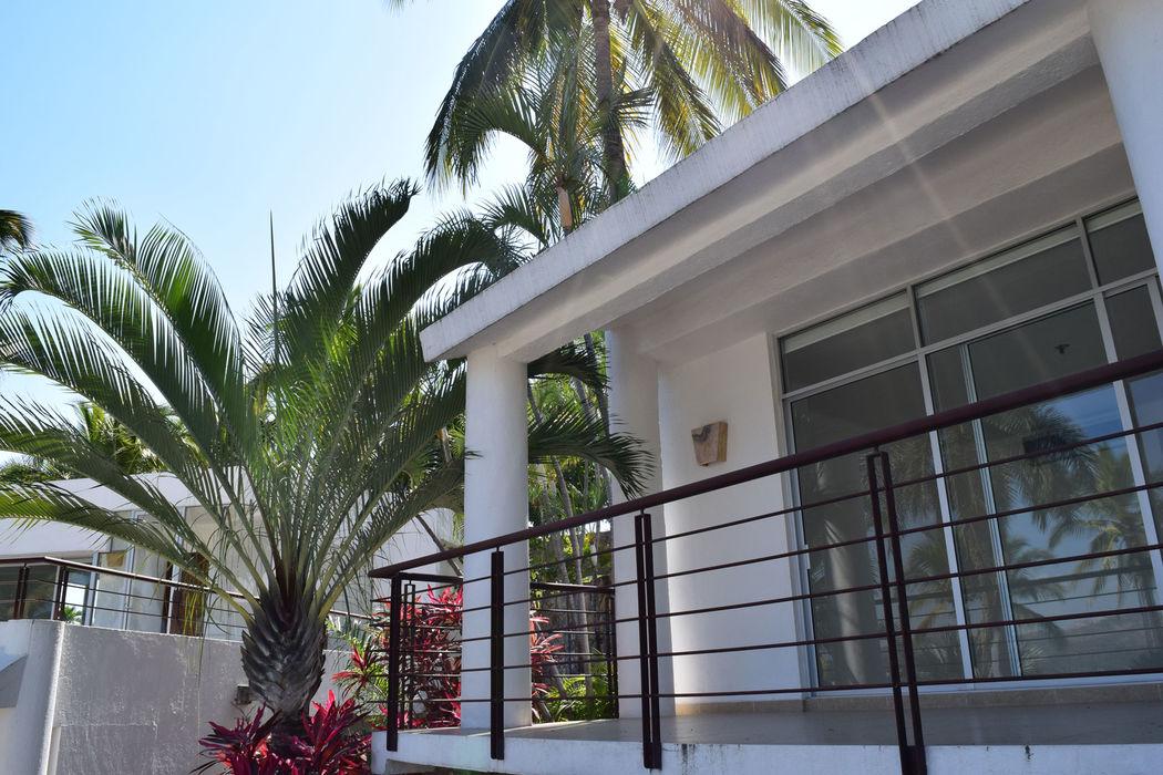 6 bungalows totalmente equipados
