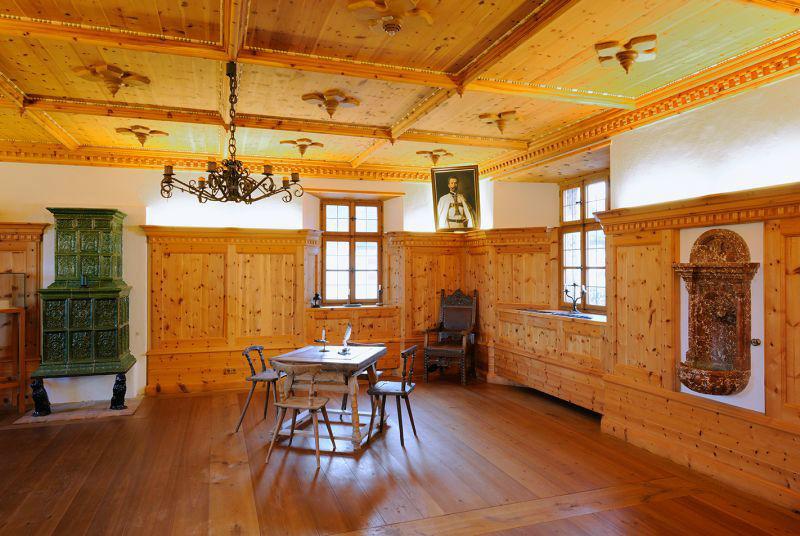 Beispiel: Räumlichkeiten, Foto: Erlebnisburg Hohenwerfen.