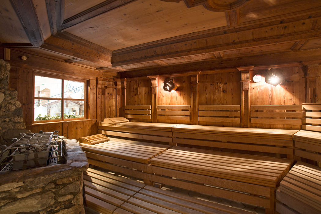 Große Saunalandschaft im Seehof