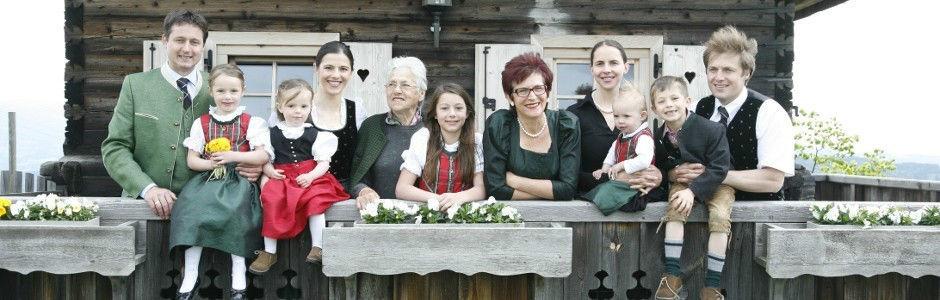 Beispiel: Familie Skorianz, Foto: Gipfelhaus Magdalensberg.