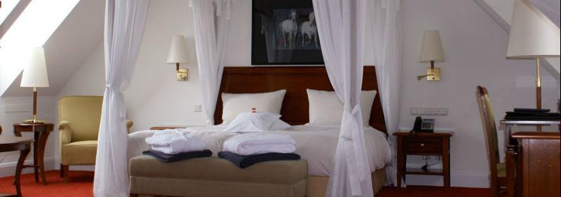Beispiel: Hotelsuite, Foto: Hotel Moosburger Hof.