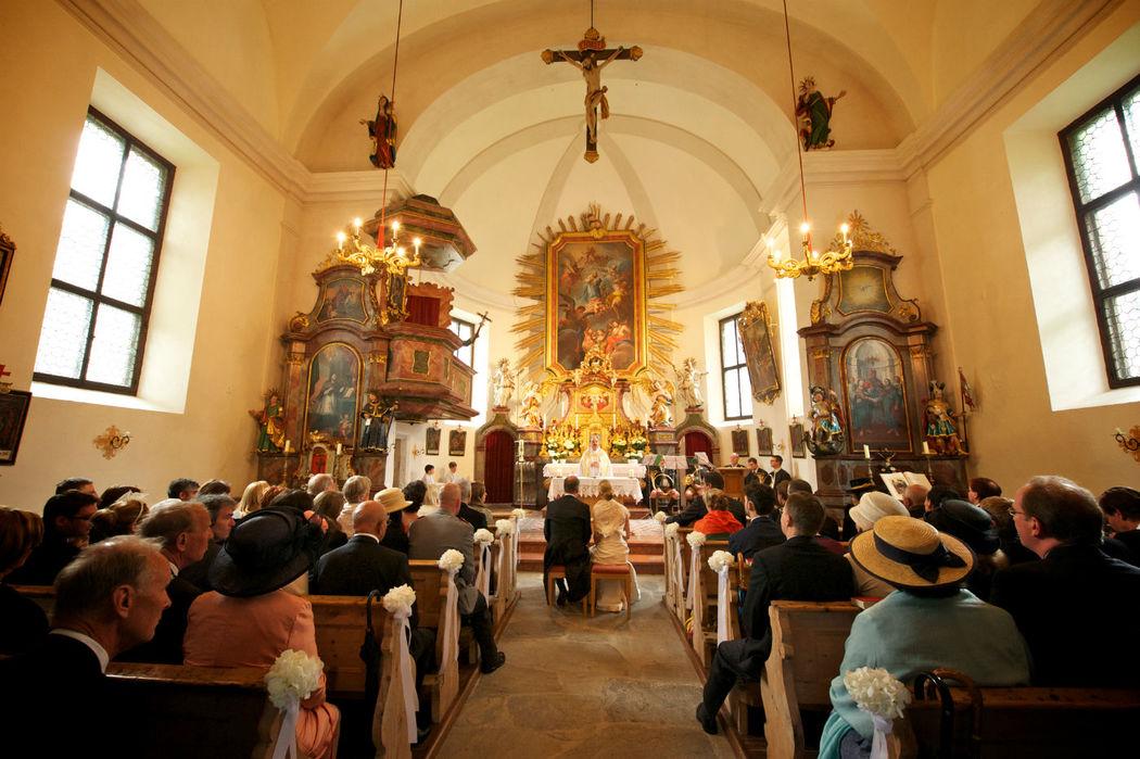 Trauung in der Schlosskirche