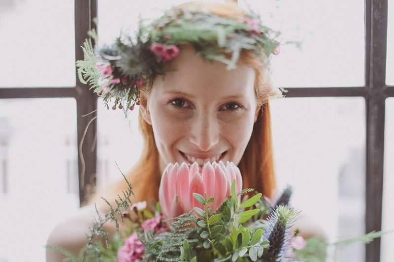 Beispiel: Blumen nach Ihrem Hochzeitskonzept, Foto: Blumen Stieber.