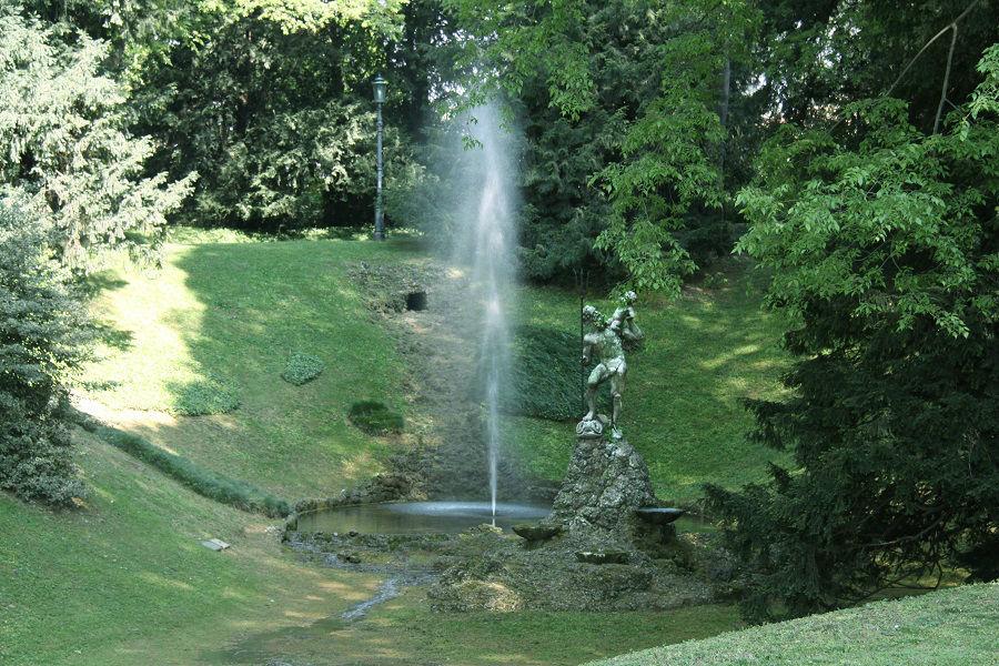 La fontana di Nettuno e il nostro laghetto