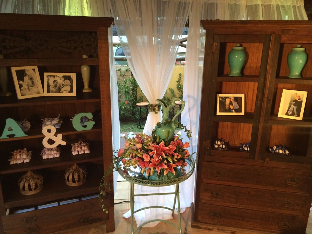 Peças decorativas, seguindo seu gosto e tendências.