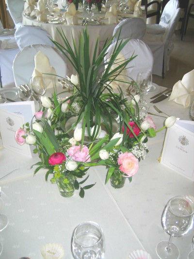 Beispiel: Hochzeitsfloristik, Foto: Blumen Kleissner.