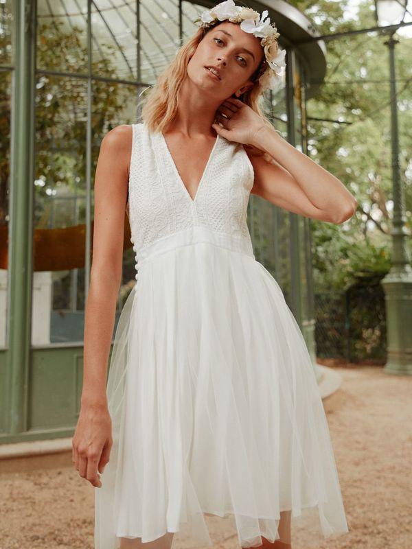CLEA - Robe de mariée tutu courte et sexy - Myphilosophy Paris
