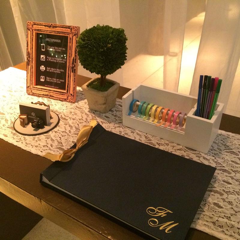 Kit Guestbook (Livro de assinaturas)