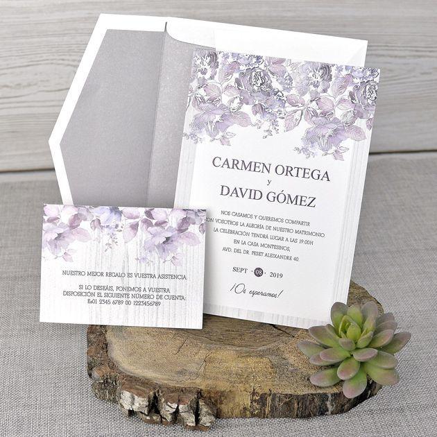 Invitaciones boda.Fiesta detalles e invitaciones