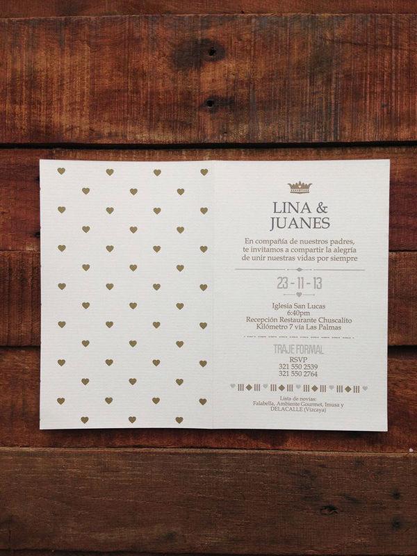 Diseño de invitación