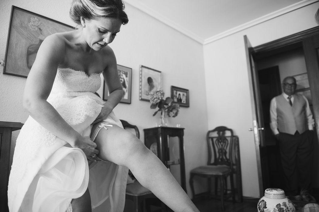 Preparativos de Vanesa en el día de su boda. London Studio