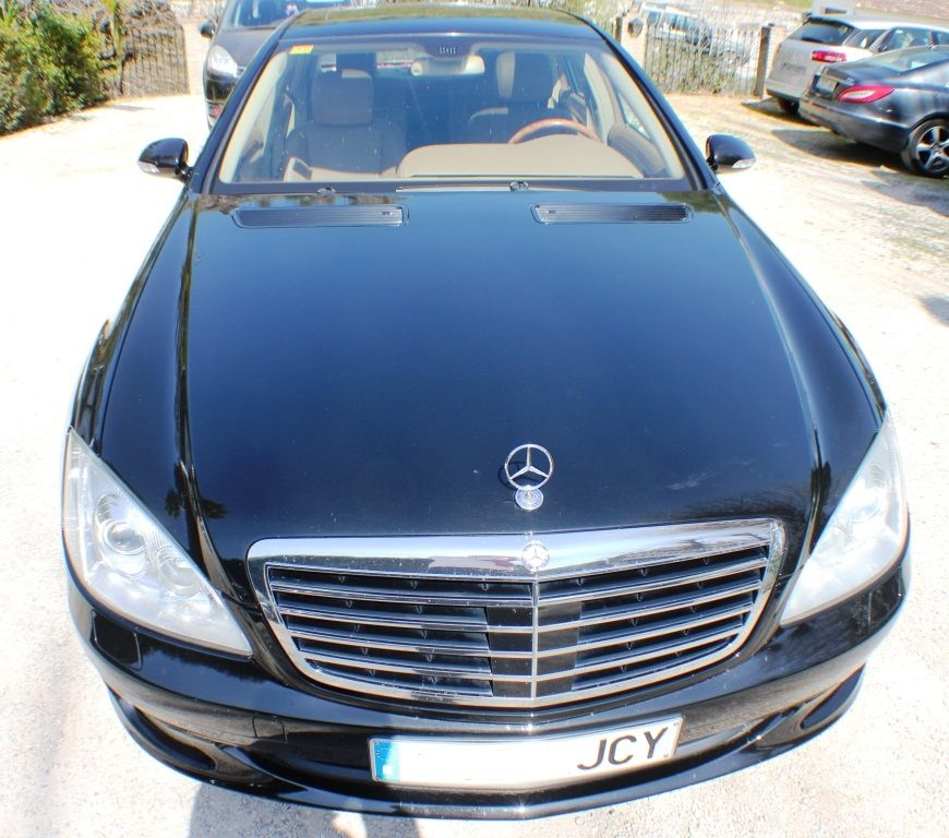 frontal mercedes clase s