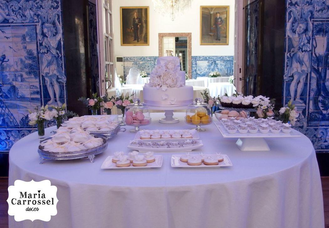 Mesa de doces by Maria Carrossel® Doces